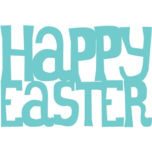 'happy easter' phrase