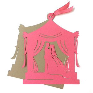 wedding gazebo card