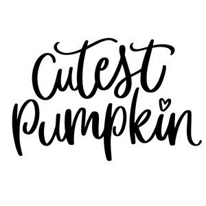 cutest pumpkin