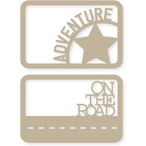 4x6 adventure/road journaling card