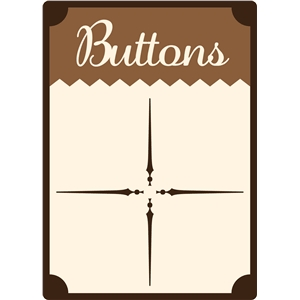 antique button card
