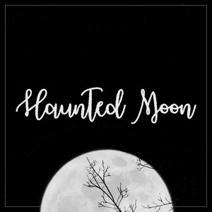 haunted moon (rough) font