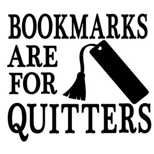 bookmarks are for quitters