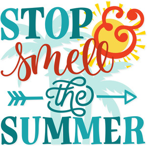 stop & smell the summer