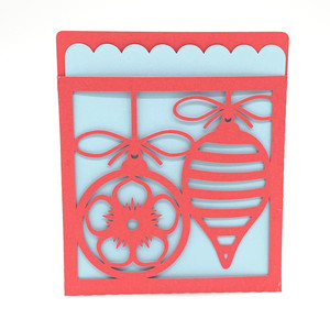 christmas decoration ornaments card