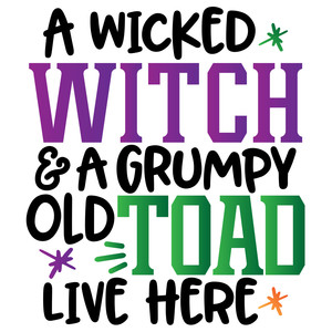 witch and toad live here