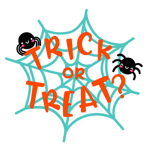 trick or treat spider web