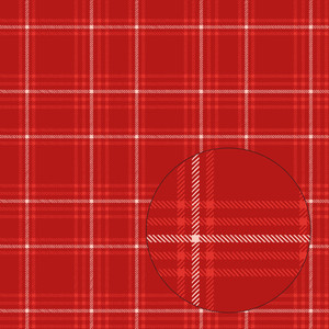 christmas plaid seamless pattern (red)