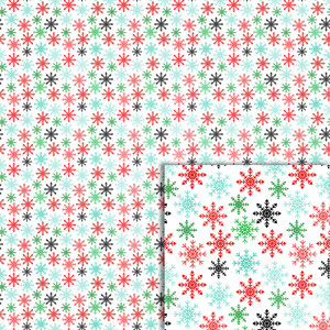 snowflakes background paper