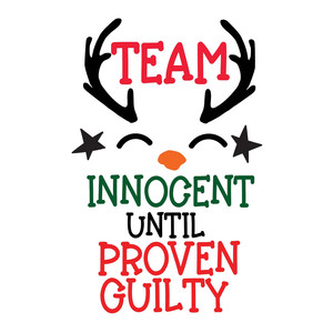 team innocent until proven guilty