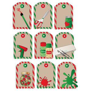 crafter's christmas tags