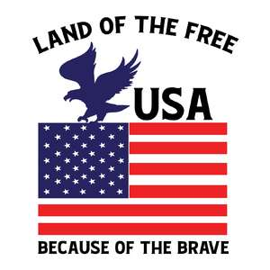 usa land of the free because of the brave