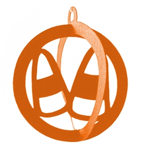 3d halloween hanging ornament