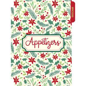 holiday cookbook appetizers divider