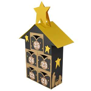 christmas advent village drawers 21-25 – nativity