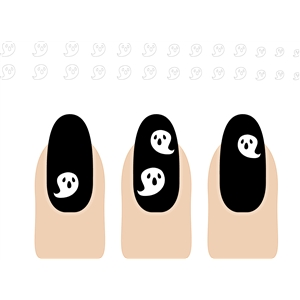 nail design: mummy