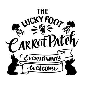 easter carrot patch sign