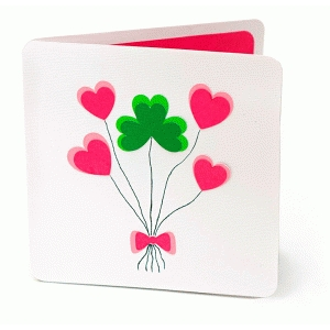 lucky bunch card