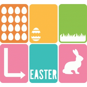 6 easter 3x4 life cards