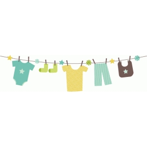 echo park baby clothes banner