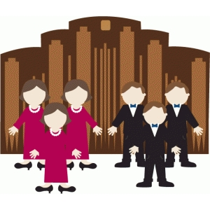 lds general conference paper doll set-mormon tabernacle choir