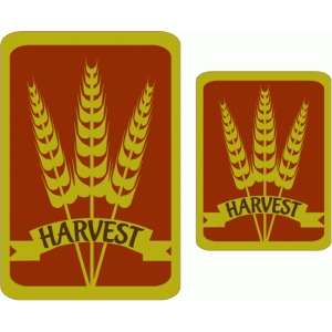 wheat harvest cards