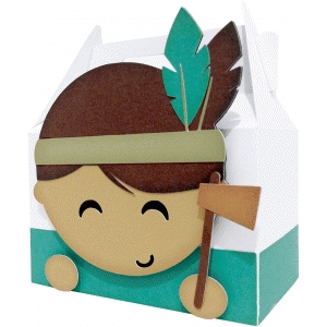 cute indian box