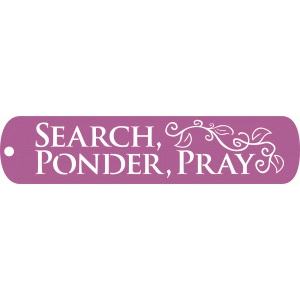 search ponder and pray bookmark
