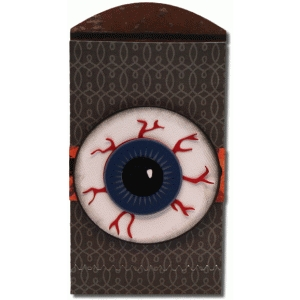 3d eyeball envelope bag
