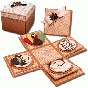 thanksgiving explosion box kit