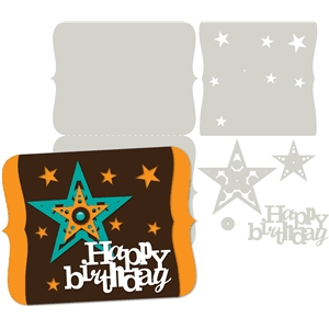 3-happy birthday masculine card kit