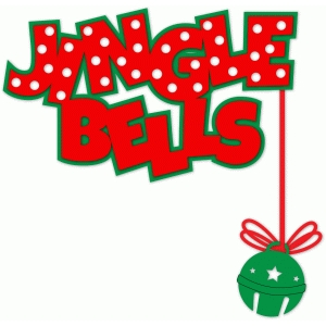 jingle bells - polka dots