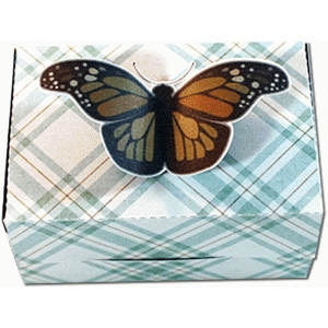 monarch butterfly small favor box