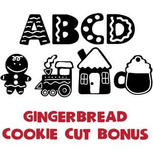 zp gingerbread cookie cut bonus