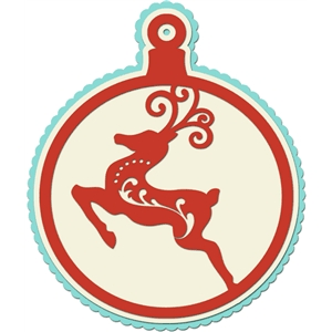 christmas ornament reindeer