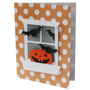 bat window pane card