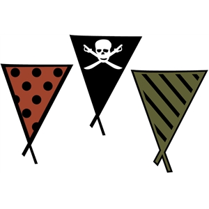 pirate pennants