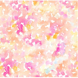 abstract pink and orange watercolor pattern