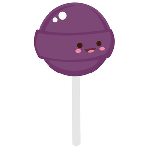 kawaii boy lollipop