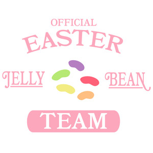 official easter jelly bean team