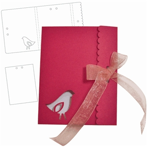 bird notepad enclosed