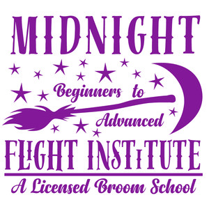 midnight flight institute sign