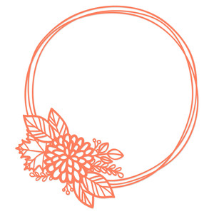 chrysanthemum maple wreath