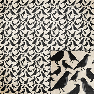 halloween crows background paper