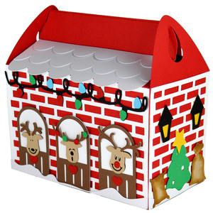 reindeer stable gift box