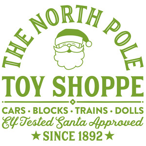 the north pole toy shoppe