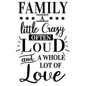 family crazy loud love