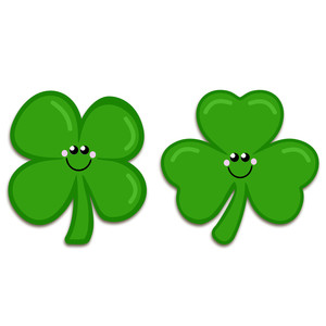 shamrock faces