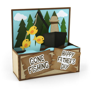 box card gone fishing