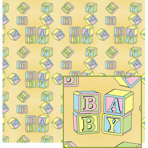 baby blocks pattern